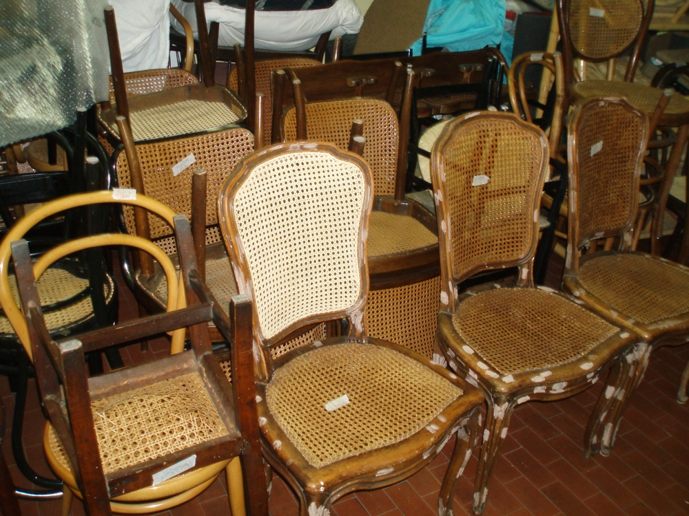Impagliatura sedie milano impagliatura sedie for Sedie design milano
